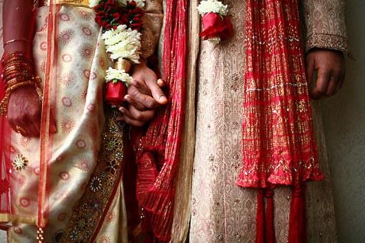 Индийская свадьба.